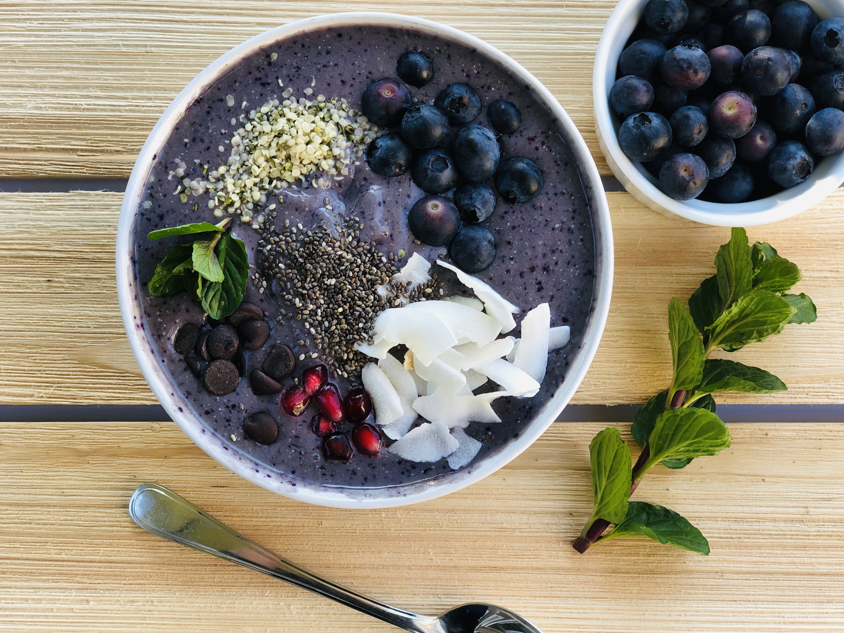 Blueberry Hemp Smoothie Bowl