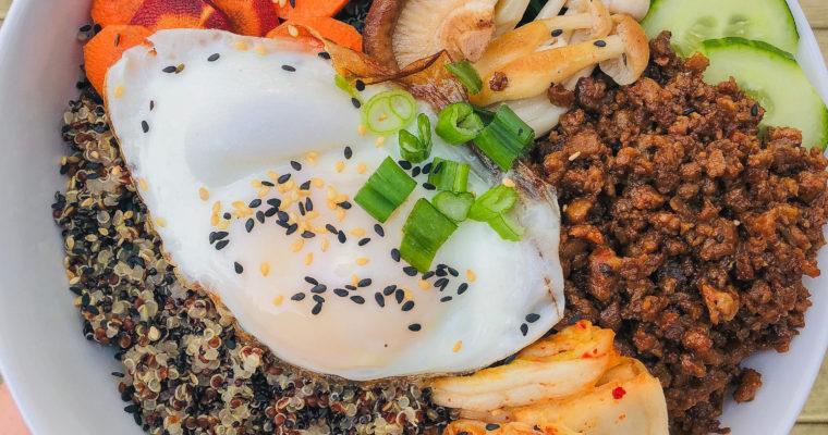 Healthier Bibimbap