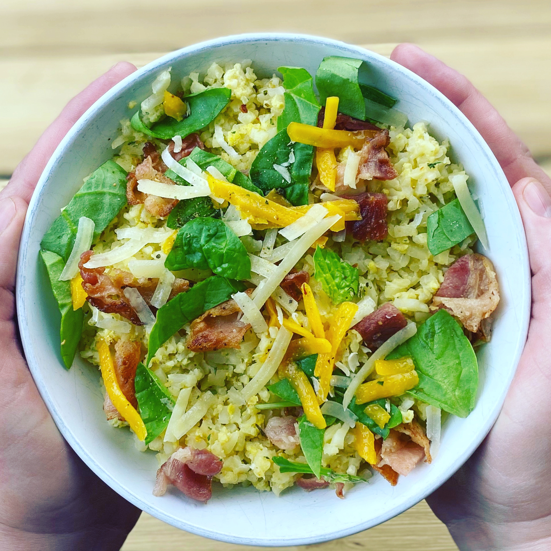 Low Carb Breakfast Bowl