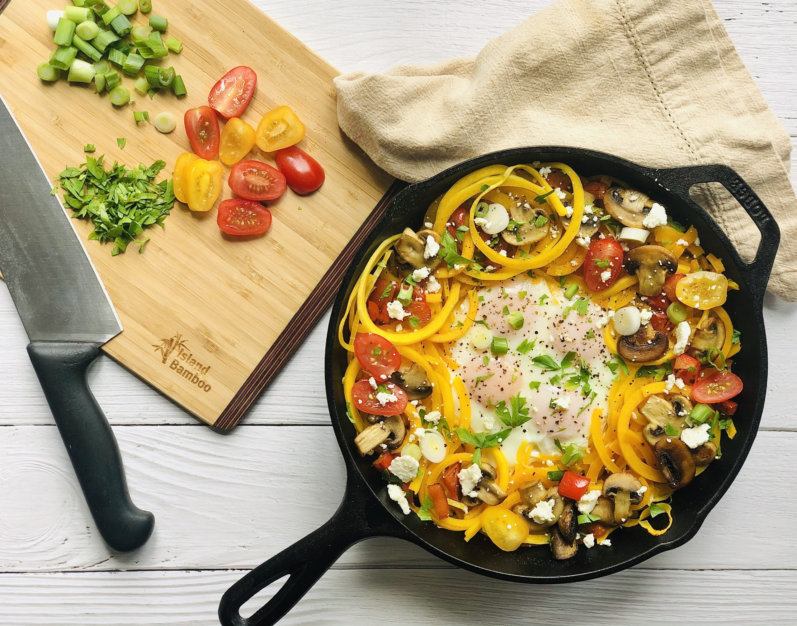 Egg and Squash Breakfast Skillet